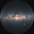 항성,은하,가이아,자료,관측,공개,위치,정보