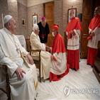 추기경,베네딕토,신임,교황,그레