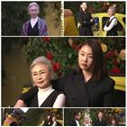 윤지영,한혜진,촬영,어머니,오래
