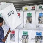 코로나,인도네시아,선관위,지방선거,유권자,자카르타