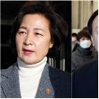 윤석열,추미애,총장,법원,검찰,결정