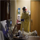 코로나19,환자,미국,병원,사망자,최악