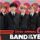 방탄소년단,올해,밴드,최초