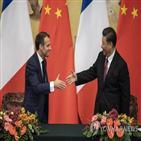 중국,협력,강화,마크롱,양국,유럽