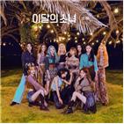 앨범,차트,소녀,이달,기록,미드나잇,글로벌