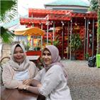 예배당,기도,플라스틱,상자,모스크,만든,인도네시아,무솔라,음료