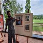 골프,흑인,작품,남아공,그림,백인,아들,코로나19,드라이버,표현