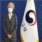 장관,북한,코로나19,김여정,질문