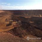 중국,호주,철광석,가격,리오틴토,철강