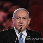 네타냐후,리쿠드당,총선,예산안,총리,올해,이스라엘