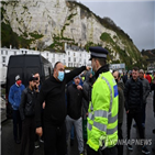 영국,프랑스,운전사,화물트럭,도버항,검사,경찰,코로나19