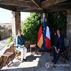 마크롱,대통령,확진,코로나19,프랑스