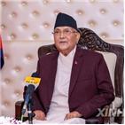네팔,중국,총리,네팔공산당,인도,올리,현지,결정