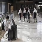 변종,일본,코로나19,공항,확진,감염
