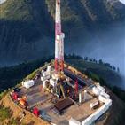 석유,유전,중국,생산량,천연가스