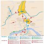 서울,추진,사업,광역교통개선대책,지역