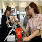 관광객,외래,비중,쇼핑,화장품