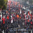 총리,의회,해산,시위,네팔,결정