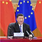중국,미국,유럽,투자,협정,체결,바이든,동맹,이번
