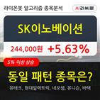 SK이노베이션,기관,순매매량