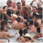 브라질,대통령,코로나19,보우소나,피서객