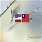 중국,대만,대한,홍콩,위협,유포