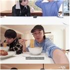 정일우,김범,라면,요리,유튜브