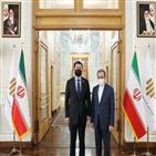 한국,이란,미국,억류,문제,동결,자금,차관,선박