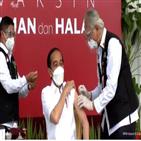 백신,접종,인도네시아,대통령,시노백,조코위