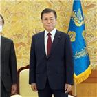 일본대사,도미타,대통령,문재인