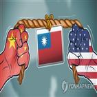 대만,취소,미국,방문