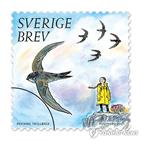 우표,스웨덴,툰베리