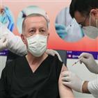 백신,터키,접종,코로나19,에르도안