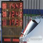 전국,가격,휘발유,주유소,지난주
