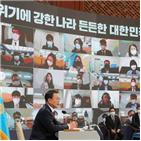 선언,대화,북한,대통령