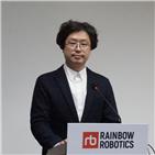 로봇,레인보우로보틱스,개발,협동로봇,기술,상장,이족보행,제품,플랫폼