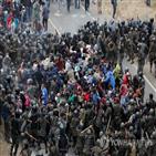 이민자,미국,과테말라,국경,온두라스,군경,멕시코