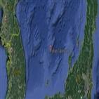 어선,일본,대화퇴,북한,중국