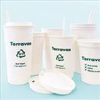 한솔제지,친환경,제품,종이,종이컵,포장재,프로테,테라바스