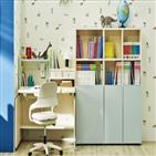 책상,조이,한샘,높이,아이,조절,자녀방,컴팩트