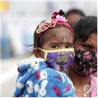 인도,접종,확진,백신,신규,누적,당국