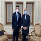 이란,이란대사관,한국,차관,해결