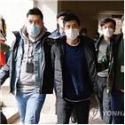 홍콩,홍콩보안법,지난해,빈과일보,조치,대표단,재판