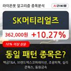 SK머티리얼즈,기관,순매매량,수준