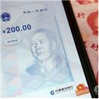 디지털,중국,화폐,기업,위안화,채택