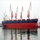 운임,중국,벌크선,작년,컨테이너선,수입,철광석,계약,하반기,상승