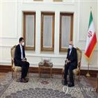 이란,한국,동결