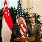 대통령,싱가포르,총리,바이든