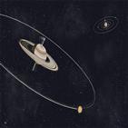 토성,자전축,위성,기울기,이동