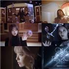 유니버스,아이즈원,공개,뮤직비디오